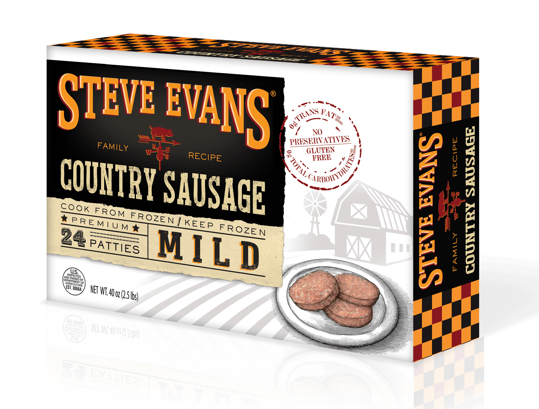 Steve Evans Sausage | Bring the farm to your kitchen.